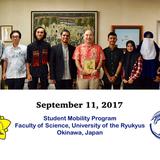 Dua Mahasiswa Prodi Statistika Menjadi Delegasi Student Mobility Program di University of The Ryukyus, Okinawa, Jepang